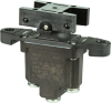 TP Series Rocker Switch, 1 pole, 3 position, Screw terminal, Above Panel Mounting -- 1TP7-7 -Image