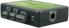 Ethernet to 4 Optically Isolated Inputs / 4 Reed Relay Digital Interface Adapter, with PoE (802.3af) -- 110PoE