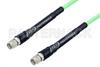 SMA Male to SMA Male Low Loss Test Cable 100 CM Length Using PE-P142LL Coax, RoHS -- PE341-100CM -Image