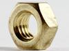Hex Nut Brass DIN934, M3.5X.6 -- M50615 - Image