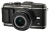 Olympus PEN E-P3 Black 12.3mp 3D Digital Camera w/ 14-42mm IIR Lens - 3in OLED Touchscreen -- V204031BU000