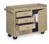 Mobile Laboratory Bench, 3-Drawer/1-Door, 45