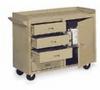 Mobile Laboratory Bench, 3-Drawer/1-Door, 45