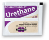 Hardman DOUBLE/BUBBLE Urethane A-85 Adhesive Purple-Beige Package 3.5 g Packet -- 4024 CLEAR