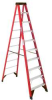 WERNER 10 ft. Fiberglass Stepladder, Type IAA Duty Rating, -- Model# 6310