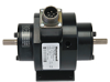 Model 1602 Low Capacity Rotary Torque Transducer; 1,000 in-oz; 20 °C to 75 °C [70 °F to 170 °F] Temperature Compensation; Non-amplified (mV/V); Amphenol MS3102A-14S-5P Electrical C -- 1602-1K - Image