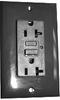 Ground Fault Duplex Gray 20A 125V 2P -- 88377837912-1