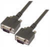 Heavy Duty D-sub Cable, DB9 Male / Male, 1.0 ft -- DSA00023-1F - Image