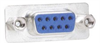 DB9 Female Connector for Field Termination with Screwless Terminal Block -- DGS9FT - Image