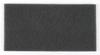 3M Scotch-Brite 64660 Non-Woven Silicon Carbide Durable Flex Hand Pad - Ultra Fine Grade - 4 1/2 in Width x 9 in Length -- 048011-64660 - Image