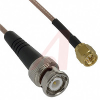 cable assembly,sma straight plug to bncstraight plug,rg-316 cable,12 inch -- 70090253 - Image