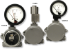 Piston Sensor Differential Pressure Gauge -- 1206PGS