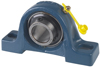 SY-TF Series Cast Iron 2-Bolt Ball Bearing Pillow Block -- SY1. TF