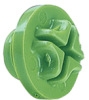 MSP Series (Slotted-Head Plastic Plugs For Metric-Threaded Ports) -- MSP-16x1.5