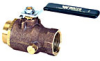 Full Port Bronze Ball Valve -- Series B6300