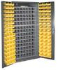 Bin Cabinet,H 72 In,W 36 In,96 Bins -- 3PAT1