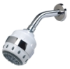 Royale All-In-One Chrome Trim Filtered Shower Head -- 107098