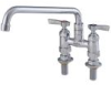 4 IN Lead Free Deck Mount Faucet with 12 IN Swivel Spout -- 0239842 - Image