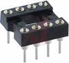 Socket, DIP;8Pins;Low Profile;Open;Solder Tail;0.3In.;Beryllium Copper;Tin/Lead -- 70206181 - Image