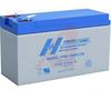 Battery,Sealed Lead Acid,12v,8.0ah,HighDischarge Rate,.250 Terminal,Flame Ret. -- 70115571
