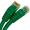 CAT5E 350MHZ ETHERNET PATCH CORD GREEN 25 FT SB -- 26-255-300 -Image