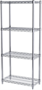Shelving, 12x24x54, 4-Shelf Wire Shelving Unit -- AWS541224SU - Image