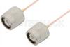TNC Male to TNC Male Cable 12 Inch Length Using PE-047SR Coax -- PE34273-12 -Image