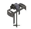 1.5 HP Air Gear Drive Drum Bracket Mount -- DBM150AGD
