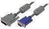 Premium DVI-A Male DVI Cable / HD15 Male w/ Ferrites, 5.0 ft -- MDA00020-5F - Image