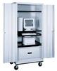 Mobile Computer Cabinet -- H272-MCC-BL -Image