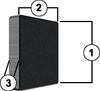 Ceramic 5 - Standard RECTANGULAR MAGNETS -- CM-0509
