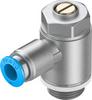 One-way flow control valve -- GRLA-3/8-QS-8-D -Image