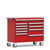 R Mobile Multi-Drawers Cabinet with Partitions 10 Drawers (54
