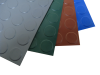 Coin Pattern Garage Flooring