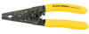 KLEIN TOOLS Cable Stripper/Cutter - Quarter Turn -- Model# K1412-3