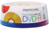 Memorex 05706 Cool Color DVD-R Spindle - 25 Pack, 16X, 4.7GB -- 05706