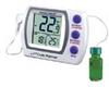 Digi-Sense Calibrated Jumbo Refrigerator/Freezer Thermometer, bottle probe -- GO-94460-74