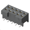 Micro Rugged Discrete Wire Systems 2mm Tiger Eye? Wire-to-Board System Board Mount Socket -- S2M Series