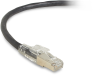 3FT Black CAT6A 650MHz Patch Cable F/UTP CM Locking Snagless -- C6APC80S-BK-03 - Image