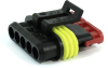 TE Connectivity AMP Superseal 1.5mm 5 Position Plug Housing, 282089-1 -- 38281 -- View Larger Image