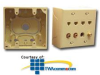 ICC Faceplate Junction Box - Double Gang -- ICACSMBD