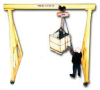 ADJUSTABLE HEIGHT AND SPAN STEEL CRANES -- H512-2000-T25 -- View Larger Image