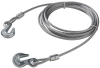 WIRE ROPE WITH GRAB HOOKS -- 13160