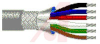 Cable; 8 cond; 22 AWG; Strand (7X30); Foil+braid shielded; Chrome jkt; 500 ft. -- 70005317 -- View Larger Image