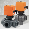 Electrically Actuated 3-Way Ball Valve Type 185-188