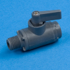 SMC Black Polypropylene Two-Way Ball Valves - 226 Series -- 22274