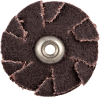 Merit AO Coarse Grit Overlap Slotted Disc -- 8834184270 - Image