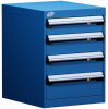 """L Cabinet with Partitions, Econo Lock-In (18""""W x 21""""D x 24""""H) -- L3ABD-2417B -- View Larger Image"""