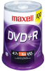 Maxell 4.70 GB 8x DVD+R Media - 100/Pack -- 634056