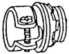 Armored Cable/Flex Conduit Connector -- 7480VI